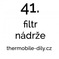 41. Filtr nádrže
