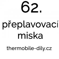 62. Přeplavovací miska