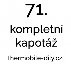 71. Kompletní kapotáž - na...
