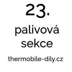 23. Palivová sekce