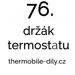 76. Držák termostatu - na...
