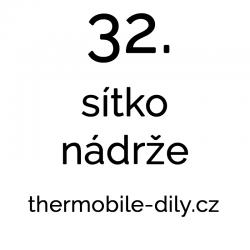 32. Sítko nádrže