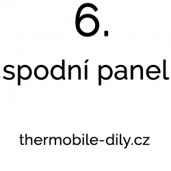 6. Spodní panel- na dotaz