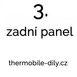 3. Zadní panel- na dotaz