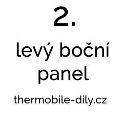 2. Levý boční panel – na dotaz