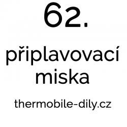 62.  Připlavovací miska